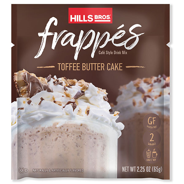 Hills Bros. Toffee Butter Cake Frappe packet