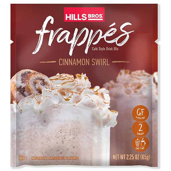 Hills Bros. Cinnamon Swirl Frappe packet