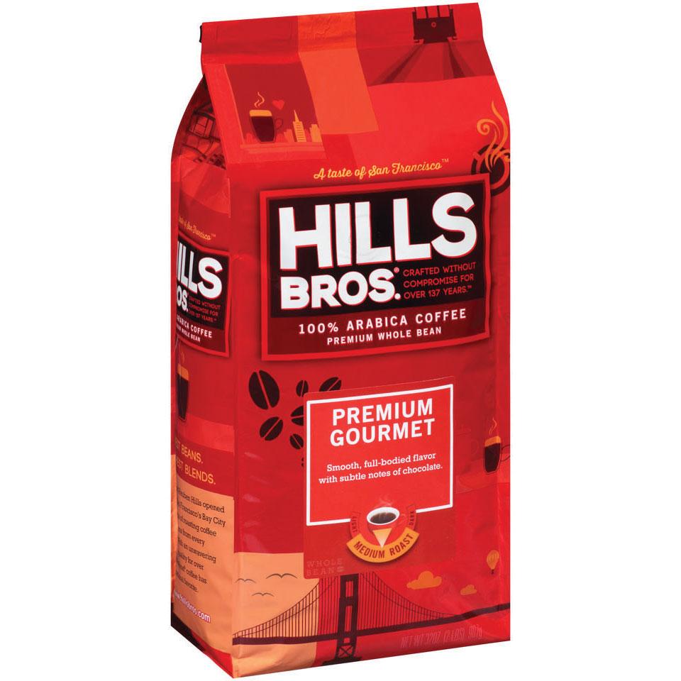 Hills Bros. Premium Gourmet Coffee Bag