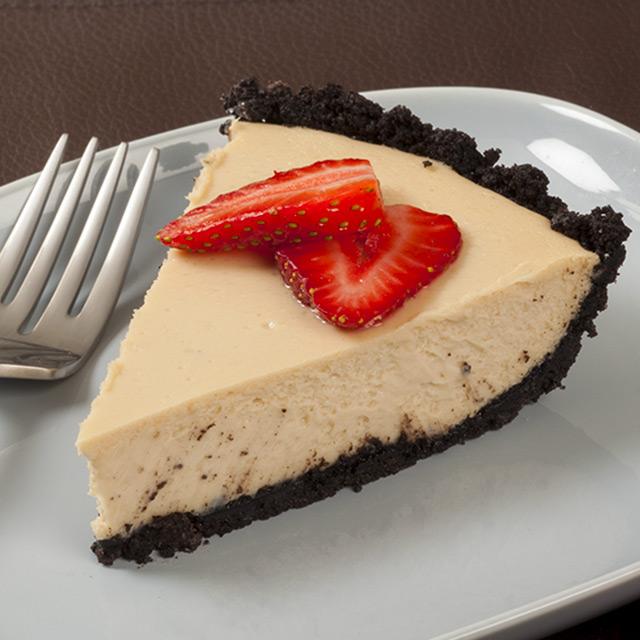 White Chocolate Caramel Cappuccino Cheesecake