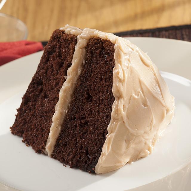 Double Mocha Cappuccino Chocolate Cake