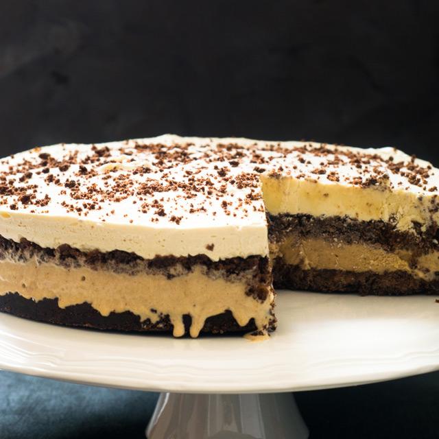 Double Mocha Ice Cream Cake