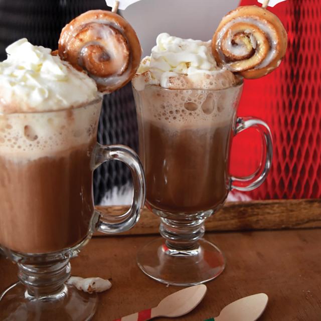 Spiked French Vanilla Cinnamon Mochaccino